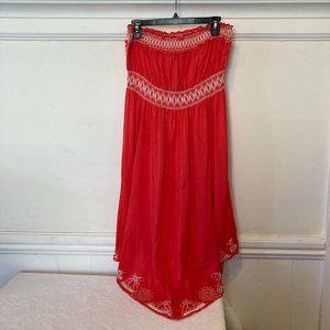 NWT American Rag Cie Size 1X Coral Arlington Dress